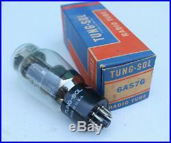 Rare Vintage Tung-Sol 6AS7G Radio Tube with Original Box USA Tungsol NOS