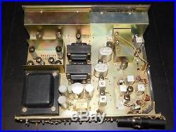 Rare Vtg Pioneer SX-82 Tube Receiver AM FM Radio Tuner Audio Stereo System Amp
