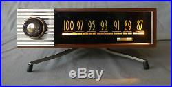 Rare tuner vintage monophonique à tubes FM genre Cibot Radio FM 62