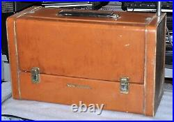 Rca Victor Strato-world Model 7-bx-10 Vintage Collectable Works Good Fair Shape