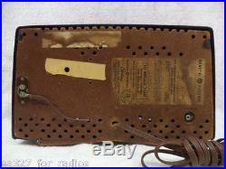 Remarkable Vintage GE Atomic 440 AM/FM Bakelite Tube tradio-RESTORED