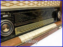 Restored! Philips Capella 753/4e/3d Bd753a Vintage Tube Radio Excellent Serviced