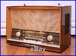 Restored! Saba Freiburg Fullautomatic 125 Stereo Vintage Tube Radio Fantastic