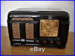 Restored Vintage FADA Model 790 Am Fm Bakelite Table Radio MINT CONDITION