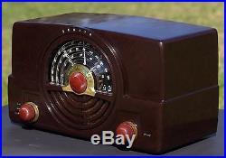 Restored Working ZENITH 7H820-U AM & Dual FM Antique Vintage