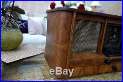 Röhrenradio Blaupunkt 6W640 in tollem Zustand! German tube radio vintage