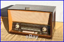 SABA Freudenstadt 125 stereo, german vintage tube radio, built 1960, restored
