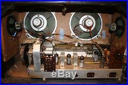 SABA Freudenstadt 7, german vintage tube radio, restored! Special offer