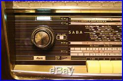 SABA Freudenstadt 8, german vintage tube radio, build 1957/58, restored
