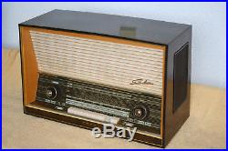 SABA WILDBAD 100, german vintage tube radio, built 1959, restored