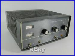 SBE SB2-LA Vintage Tube Ham Radio Linear Amplifier (original, untested)