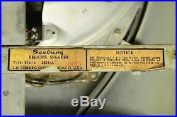 Seeburg Jukebox Speaker 40s vintage LARGE Bakelite Tear Drop catalin radio era 1