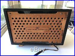 Sharp Pagoda Vintage Tube Radio Model PF-116 Works
