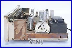 Sherwood S-3000 mk IV FM Radio Tuner Vintage Vaccum Tube Tuning Eye USA