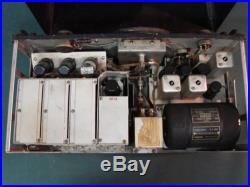 Signal Corps BC-348-J Receiver By Wells Gardner, Vintage WW2 Ham Tube Radio