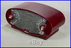 Sparton Model 132 Vintage Football Tube Radio From 1950 Restored Works Well
