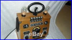 Spirit of St Louis valve style collectors wireless radio vintage steam punk tube