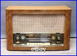 Splendid! Restored! SABA Meersburg Automatic 7 Vintage Tube Radio like Freiburg