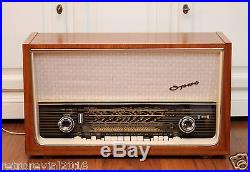 Splendid! Telefunken Opus Stereo 2004 Vintage Tube Radio 1950s MW KW LW Valve