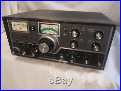 Swan 350C Ham/Amateur Radio Transceiver 80-10 Vintage Tube Rig Receives no Xmit