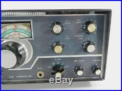 Swan 350 Vintage Tube SSB Ham Radio Transceiver (recapped in 2007) SN 661857
