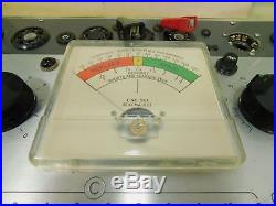 Sylvania 620 Vintage Tube Tester for Guitar or Radio Tubes with Manual