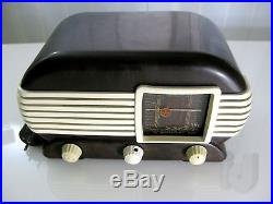 TALISMAN Sammlerstück Vintage Bakelite TESLA 307U Tube Radio 1951