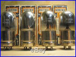 TRIODE METAL BASE TUBE 1920's RARE NOS NIB RADIO 01s QUAD vintage preamp pre amp