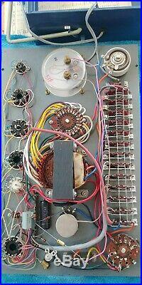 TUBE TESTER CTI Commercial Trades Institute TC-20 Vintage Vacuum /Radio NICE