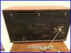 Telefunken Allegro 5183W Hi-Fi System German Stereo Tube Radio Vintage