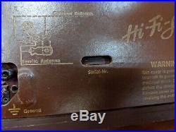 Telefunken Gavotte 5353W Hi-FI Vintage Tube Radio VTG West Germany Working 1950s