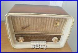 Telefunken Jubilate vintage radio 1950s FUNCTIONAL