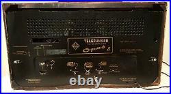 Telefunken Super Opus 8 Vintage German 1957 Radio Works