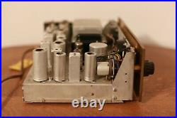 The Fisher 80-R Vintage AM/FM Mono Tube Tuner Fisher Radio Corporation Works