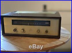 The Fisher Model KM-60 Stereo FM Radio Vacuum Tube Tuner Vintage
