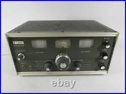 Trio (Kenwood) 9R-59DS Vintage Tube Radio Receiver (looks good, untested)