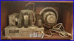 Truetone D724 1938 Vintage Tube Radio Restored