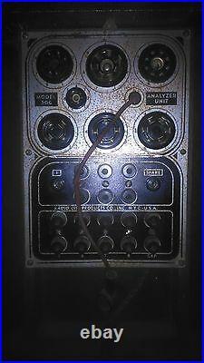 Tube Tester Set MOD 803 Radio City Products Company PROVA VALVOLE tester vintage