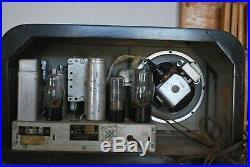 USED Vintage Canadian General Electric AM/Shortwave Tube Radio
