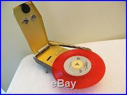 VINTAGE 1950s OLD 8 EMERSON WONDERGRAM MINI MID CENTURY RETRO PHONOGRAPH