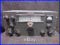 Vintage Collins Ham Radio 310-b3 Tube Cw Transmitter Exciter