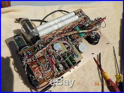 VINTAGE HICKOK 6000A HAM RADIO AMPLIFIER VACUUM TUBE CHECKER TESTER