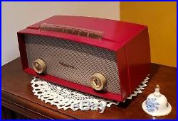 VINTAGE MOTOROLA AM Tube Radio 52X13U (1952) RESTORED IN & OUT