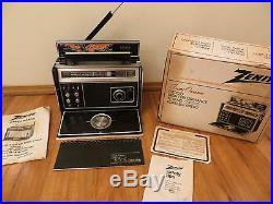 Vintage Old Zenith 7000-2 MID Century Multiband Antique Transoceanic Radio L@@k