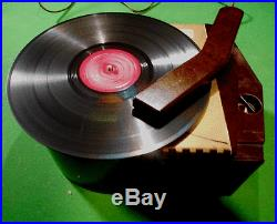 VINTAGE RCA VICTOR 1939 RECORD PLAYER 78′s RARE MODEL | Tube Radio