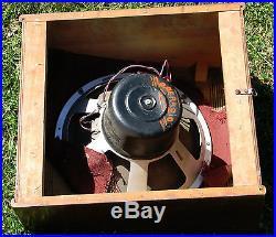 Vintage Seeburg Hearts Wall Jukebox Tube Radio Speaker