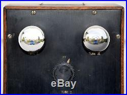 VTG (1919) DeForest P-200 Two Step Audio Amplifier Marconia Era Radio