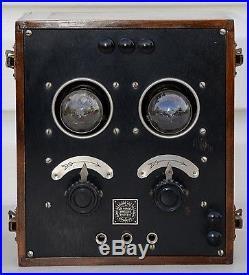 VTG (1922) DeForest DT-800 Two Stage Amplifier RARE Marconia Era Radio