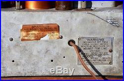 VTG (1931) Sparton 10 BC Shouldered Tombstone Tube Radio Receiver IT WORKS