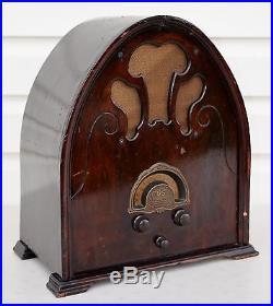 VTG (1931) US Gloritone 99A Cathedral Tube Radio Broadcast Receiver